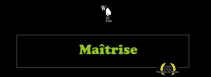 Match-Play Maîtrise