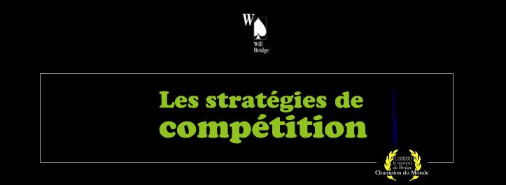 Les stratégies de compétition
